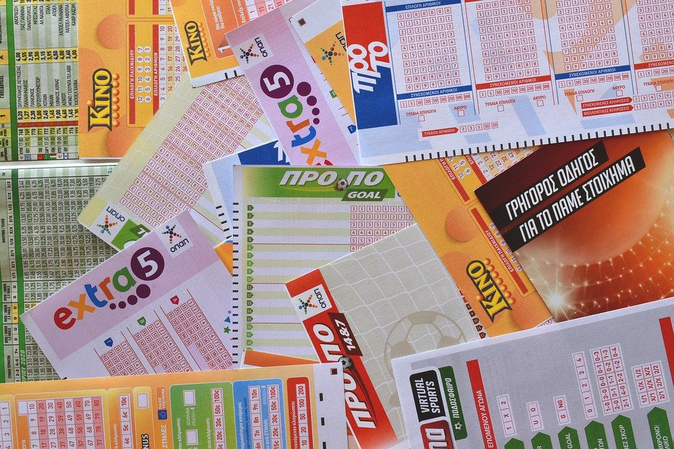 lottery coupons and tickets