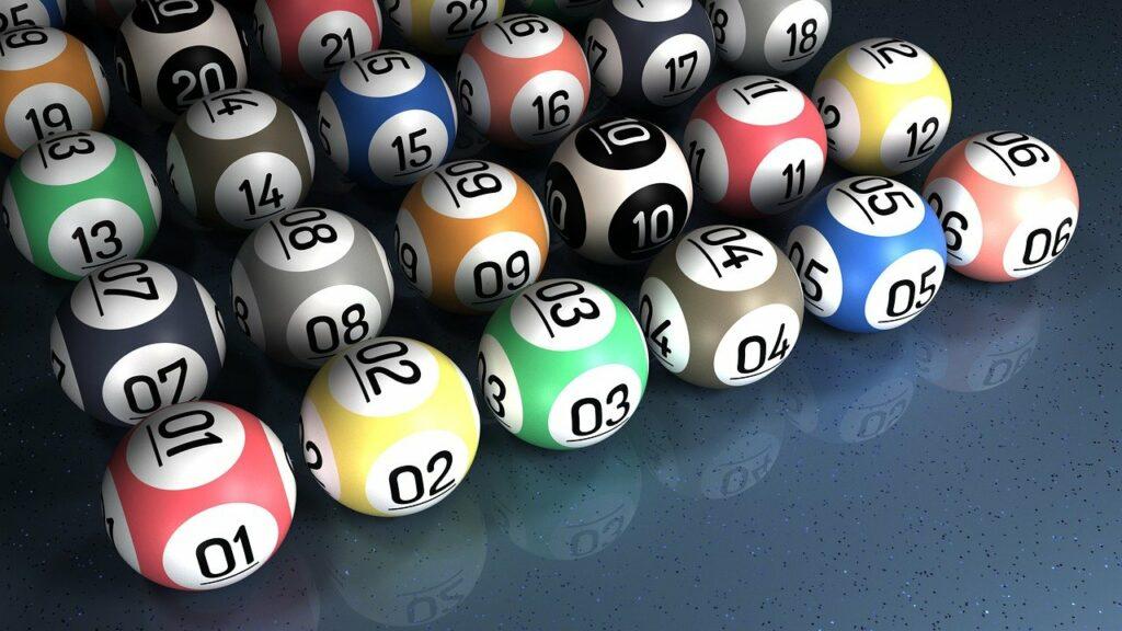 Lottery bingo balls