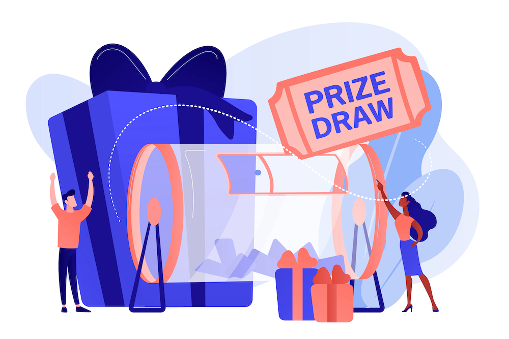 lucky people prize drawn