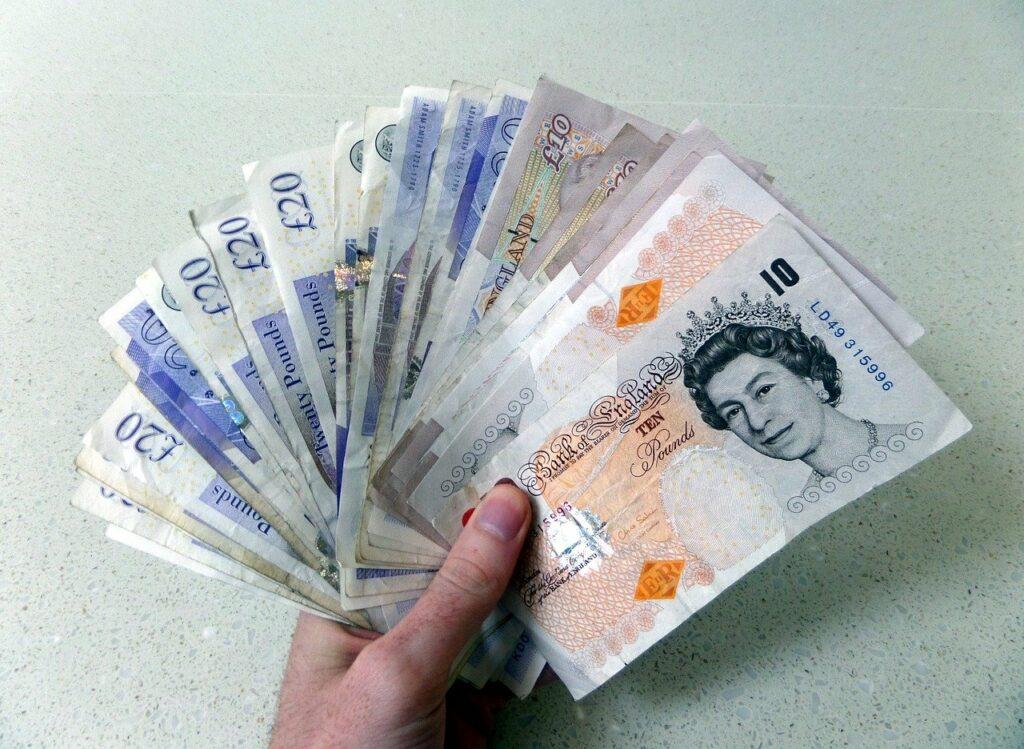 Pound sterling - cash money
