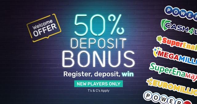 Lotto247 New Welcome Bonus